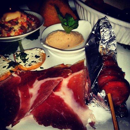 Restaurante O Celeiro: entradas