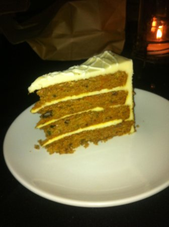 Porterhouse Steaks: Carrot Cake