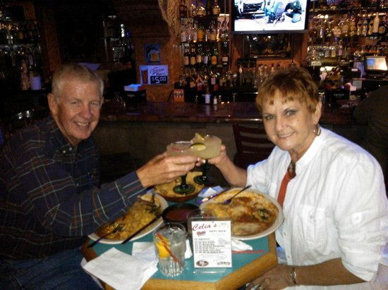 Celia's Mexican Restaurant: Bob & Irma Enjoying Dinner & Margs at Celia's