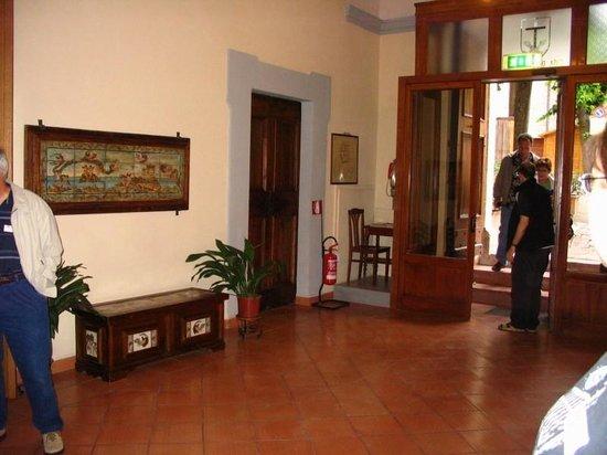 Casa del Terzario entry way.