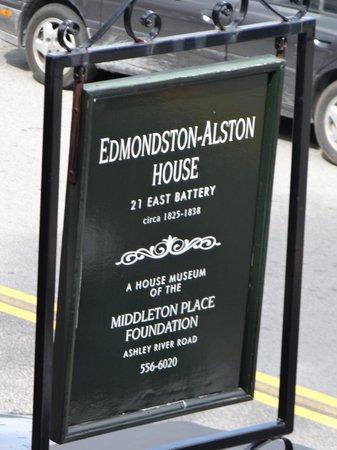 Edmondston-Alston House: Don't miss if you  like history