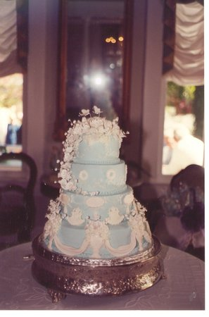 Smithfield Gourmet Bakery and Cafe: One of our special wedding cakes