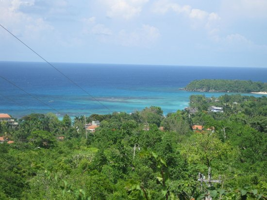 Sandals Ochi Beach Resort: View from the Panoramic Ocean View Suite