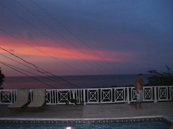 Sandals Ochi Beach Resort: Gorgeous Post-Sunset photo