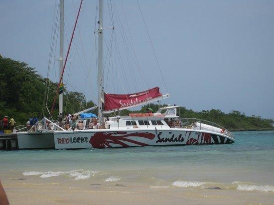 Catamaran Picture Of Sandals Ochi Beach Resort Ocho