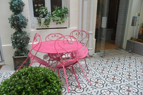 Hotel Excelsior Latin : jardín del hotel