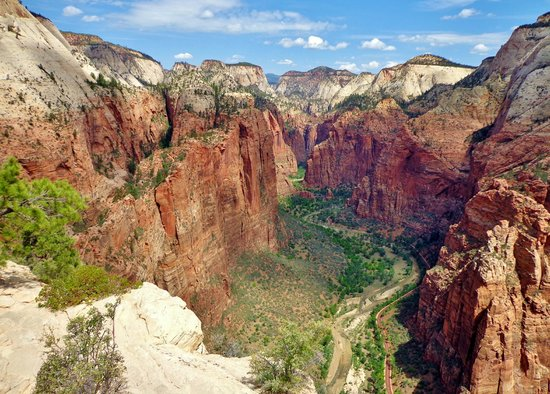Angel's Landing: The view from the top!