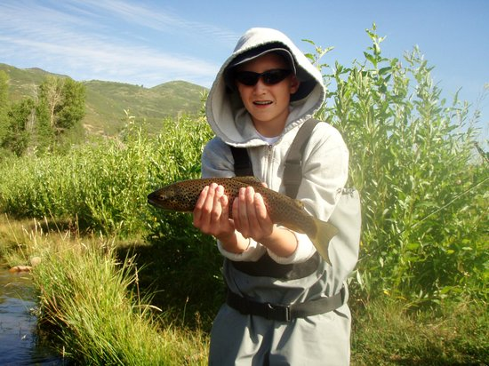 Park City On The Fly : first time fishing
