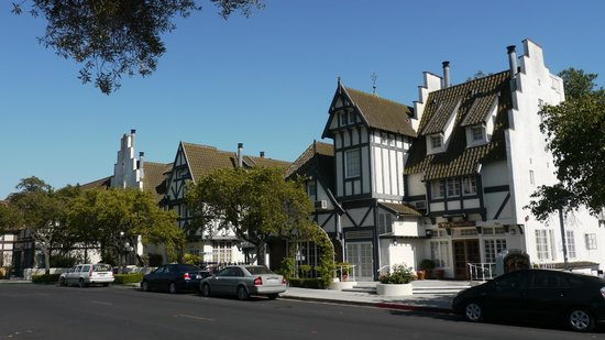 Solvang's architecture is not just for show. Residents live in authentic Danish style houses