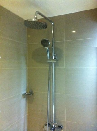 Nagoya Mansion Hotel & Residence: rain shower