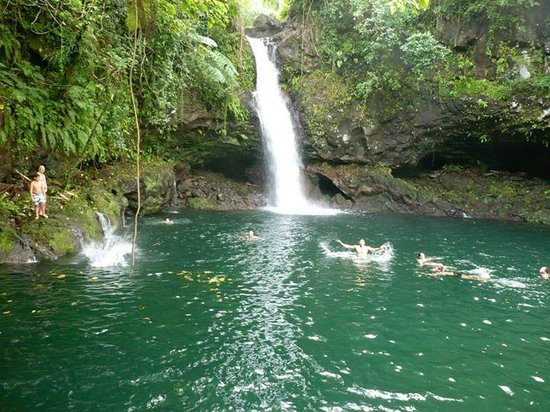 Afu Aau Waterfall: Excellent place for a dip