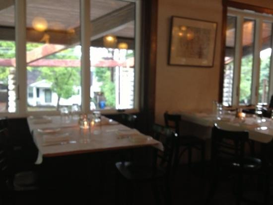 Guglhupf Cafe: from the dining room, second floor