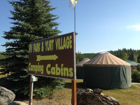 North American RV Park & Yurt Village: Yurts