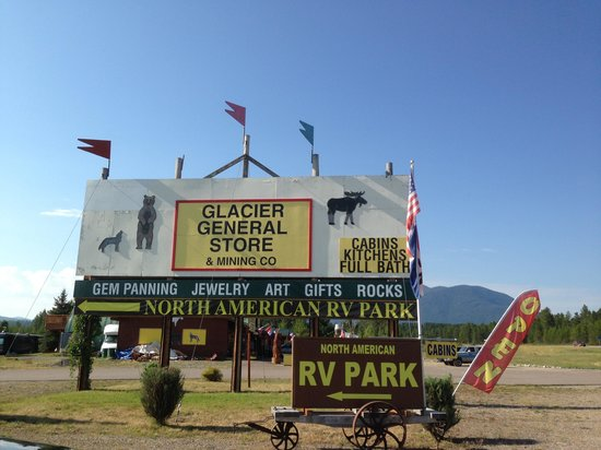 Photo of North American RV Park & Yurt Village West Glacier
