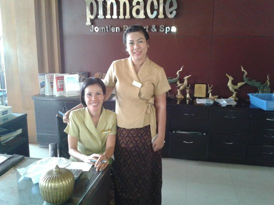Pinnacle Grand Jomtien Resort: Very helpfull staff