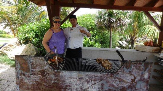 Melia Buenavista: Grill with Awesome Chef - Oisbany