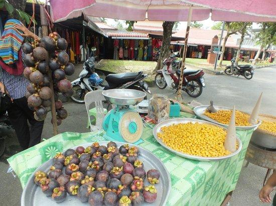 Shops at Black Sand Beach, Langkawi
