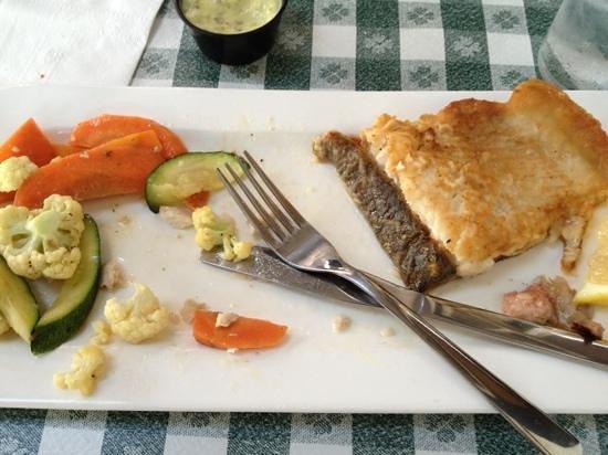 Lion's Head Inn & Restaurant: whitefish dinner