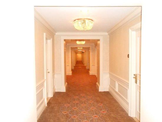 Hallway - leaving room...