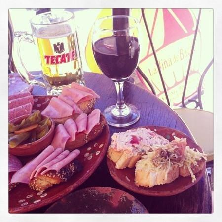 La Vina de Bacco: Tempranillo y tapas