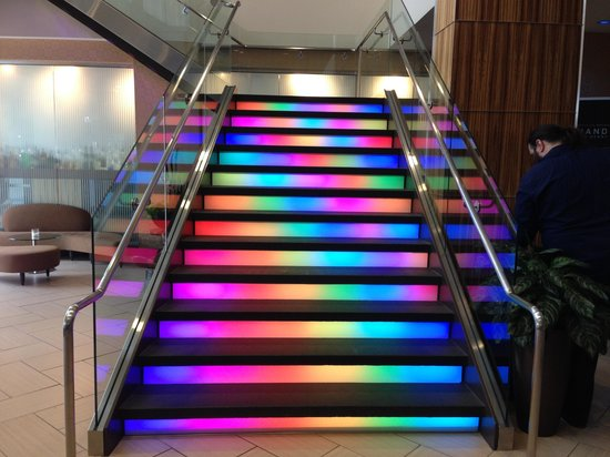 Moonrise Hotel: Stairs