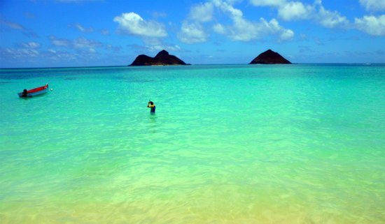The View Of Na Mokulua Picture Of Lanikai Beach Kailua