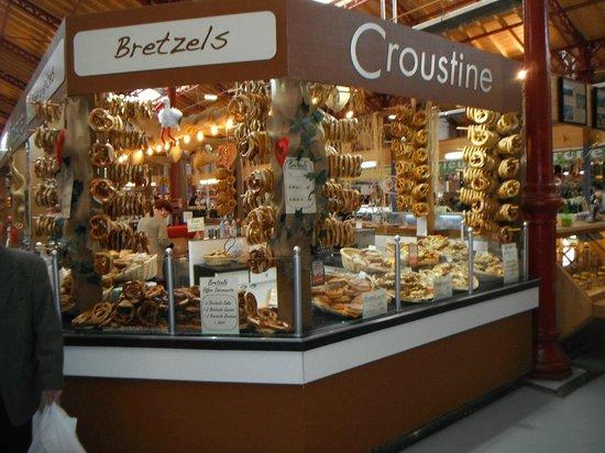 Marché Couvert: Pretzel Shop