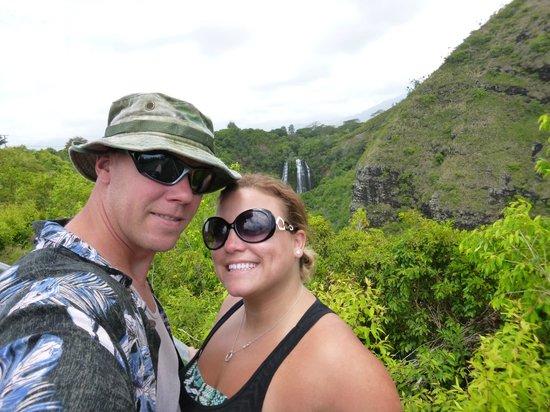 Opaekaa Falls: 1