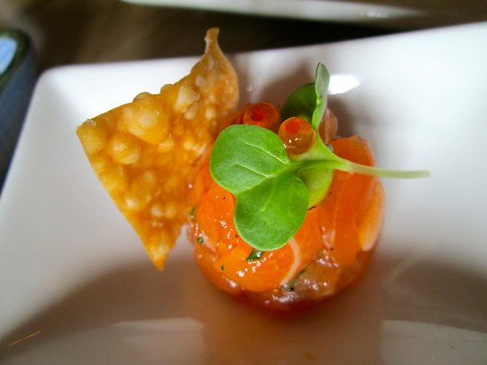 The Ritz-Carlton, Half Moon Bay: Salmon Tartare