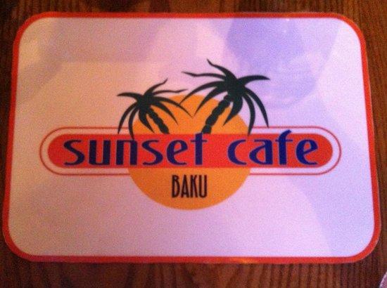 Sunset Cafe logo