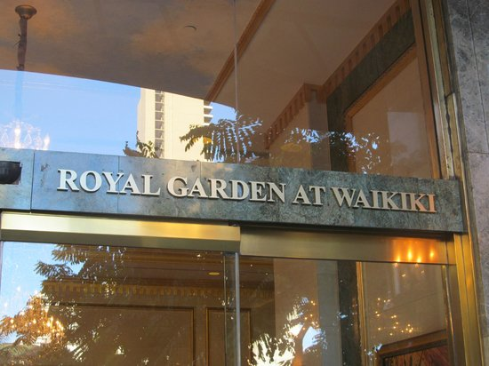 Wyndham Royal Garden at Waikiki: Entrance to Royal Garden at Waikiki