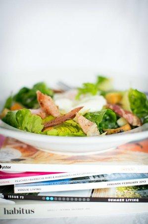 Nova: Chicken Caesar salad