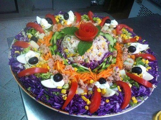 Yamal Acham : salad