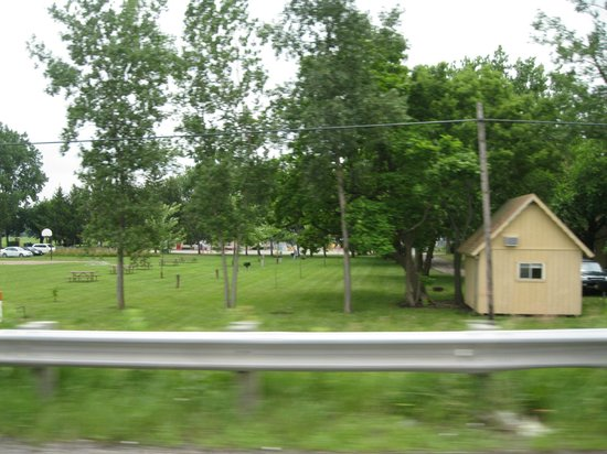 Camp Sandusky: View from the road
