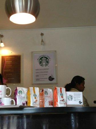 Cookie Shop : Starbucks options