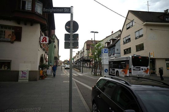 El Camino: Local town Stuttgart