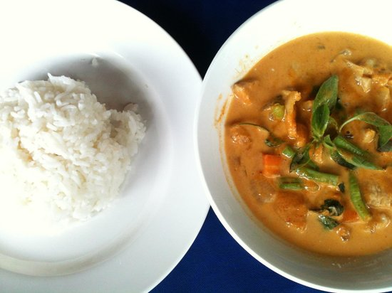 A.M.D Restaurant : Red Curry Soup