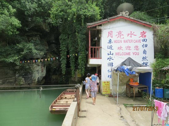 Moon Water Cave: You can swim in the pool afterwards, Beautiful location.