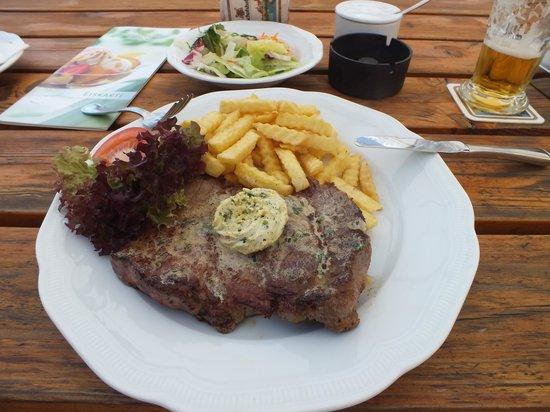 Bergwirtschaft Amberg: Rump Steak
