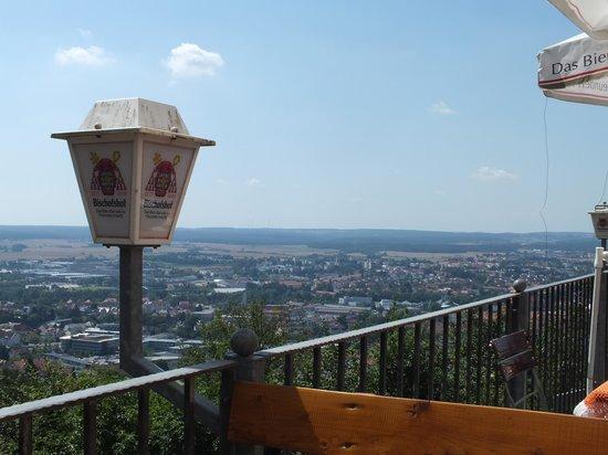 Bergwirtschaft Amberg: Little view over Amberg !