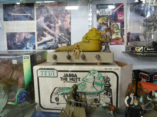 National Transport and Toy Museum: Jabba the Hutt figurines