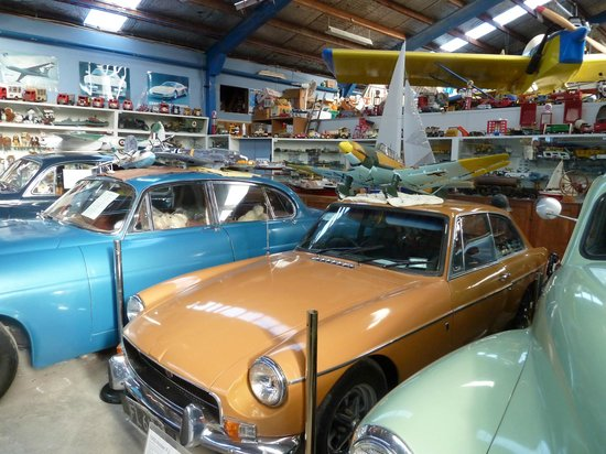 National Transport and Toy Museum: Vintage cars and models