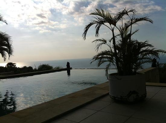 The Hamsa Bali Resort: pool with a view