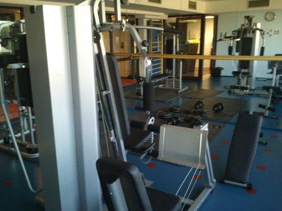 Qubus Hotel Krakow: Gym