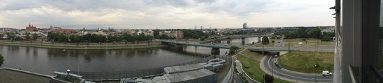 Qubus Hotel Krakow: view from 7th floor