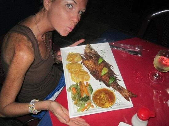 one of my favorite meals ever was the Snapper from Mopri!