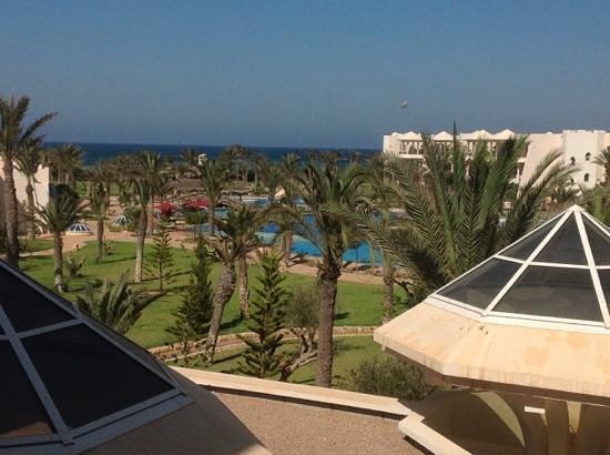 Hasdrubal Prestige Thalassa & Spa Djerba: vue du balcon de ma suite