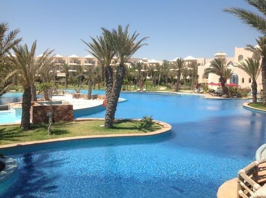 Hasdrubal Prestige Thalassa & Spa : piscine