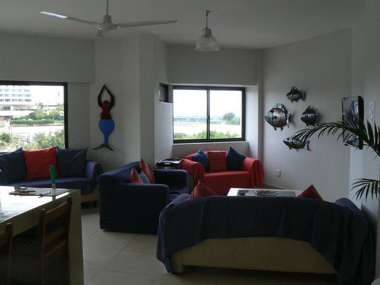 Plett Beachfront Accommodation : salon
