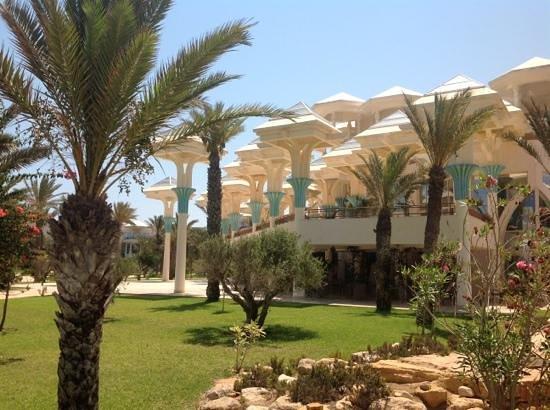 Hasdrubal Prestige Thalassa & Spa: jardin